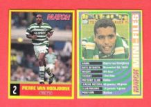 Glasgow Celtic Pierre Van Hooijdonk Holland 2